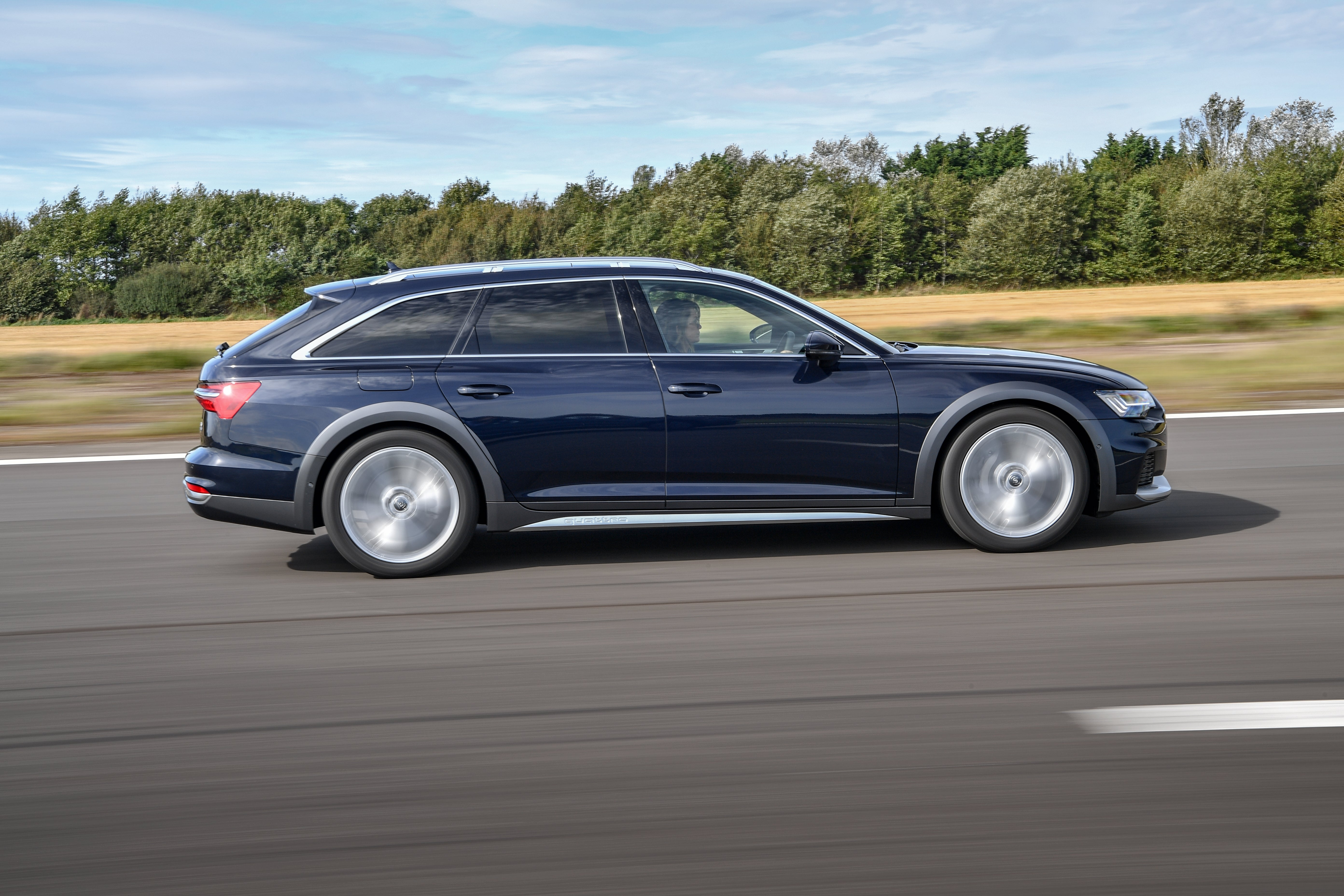 Audi A6 Allroad Driving Side