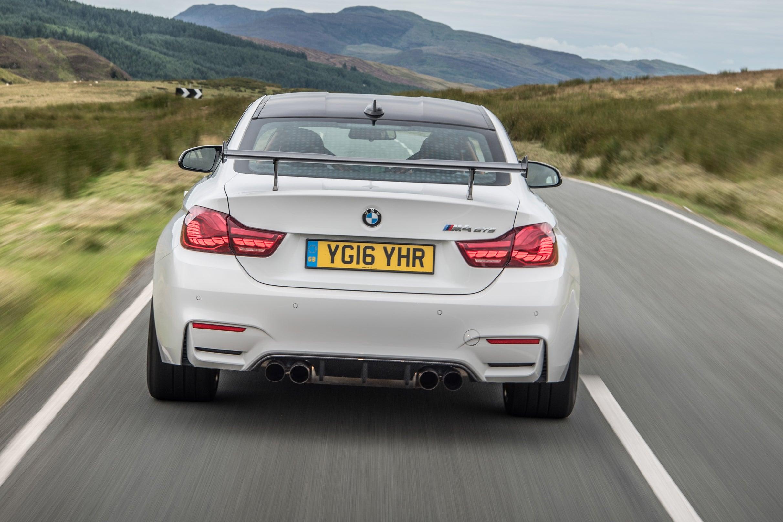 BMW M4 Driving Back