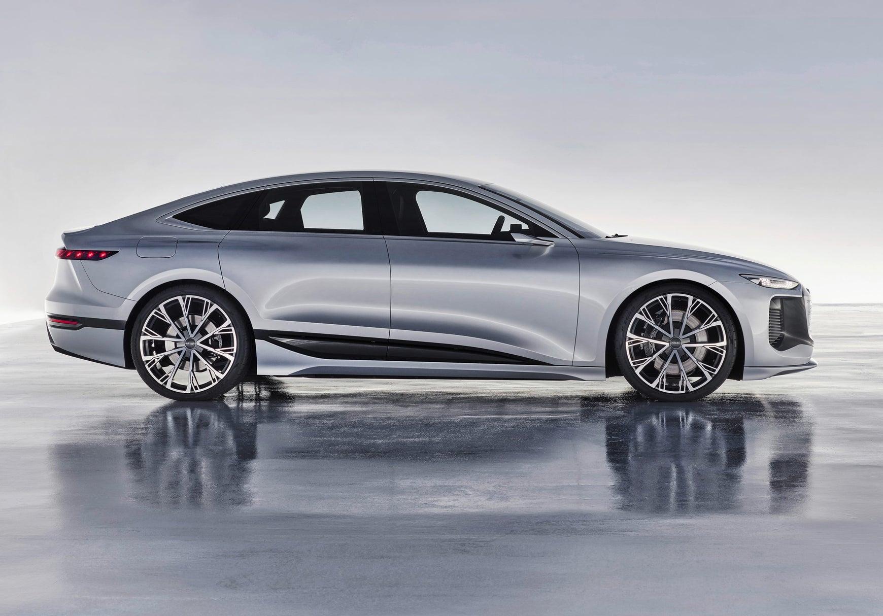 Audi A6 e-tron profile