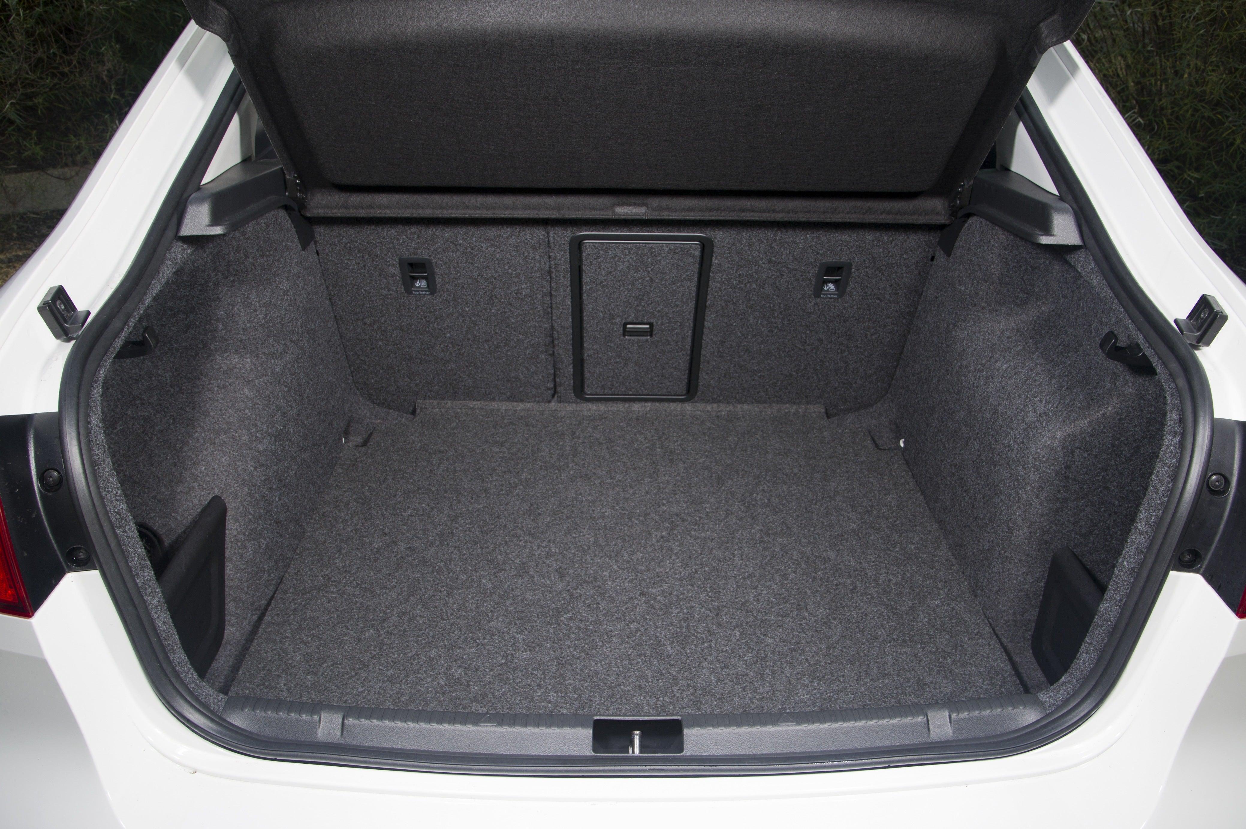 SEAT Toledo Bootspace