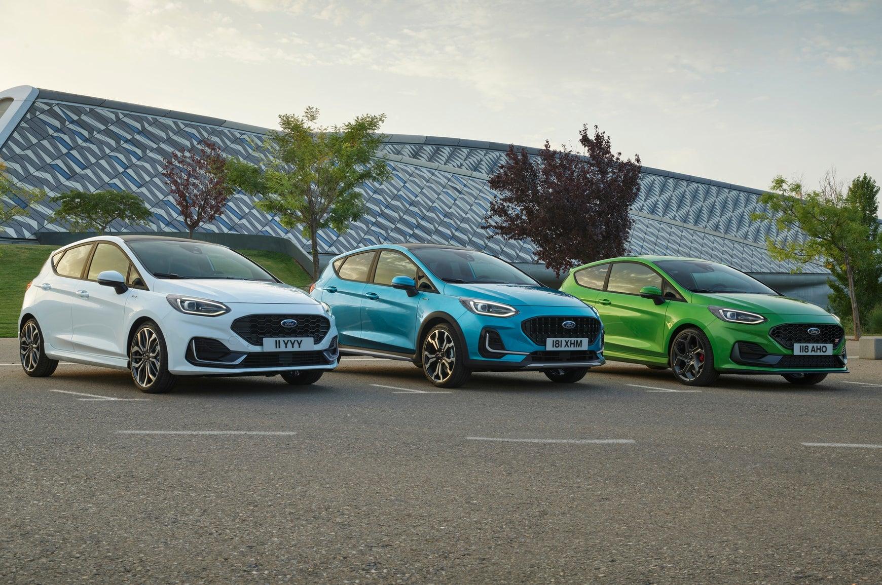 Ford Fiesta 2021 range