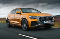 Audi Q8 Driving Front
