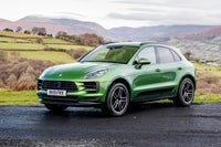 Porsche Macan Left Side View