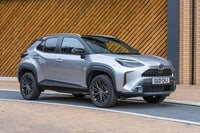 Toyota Yaris Cross Review: silver car exterior static