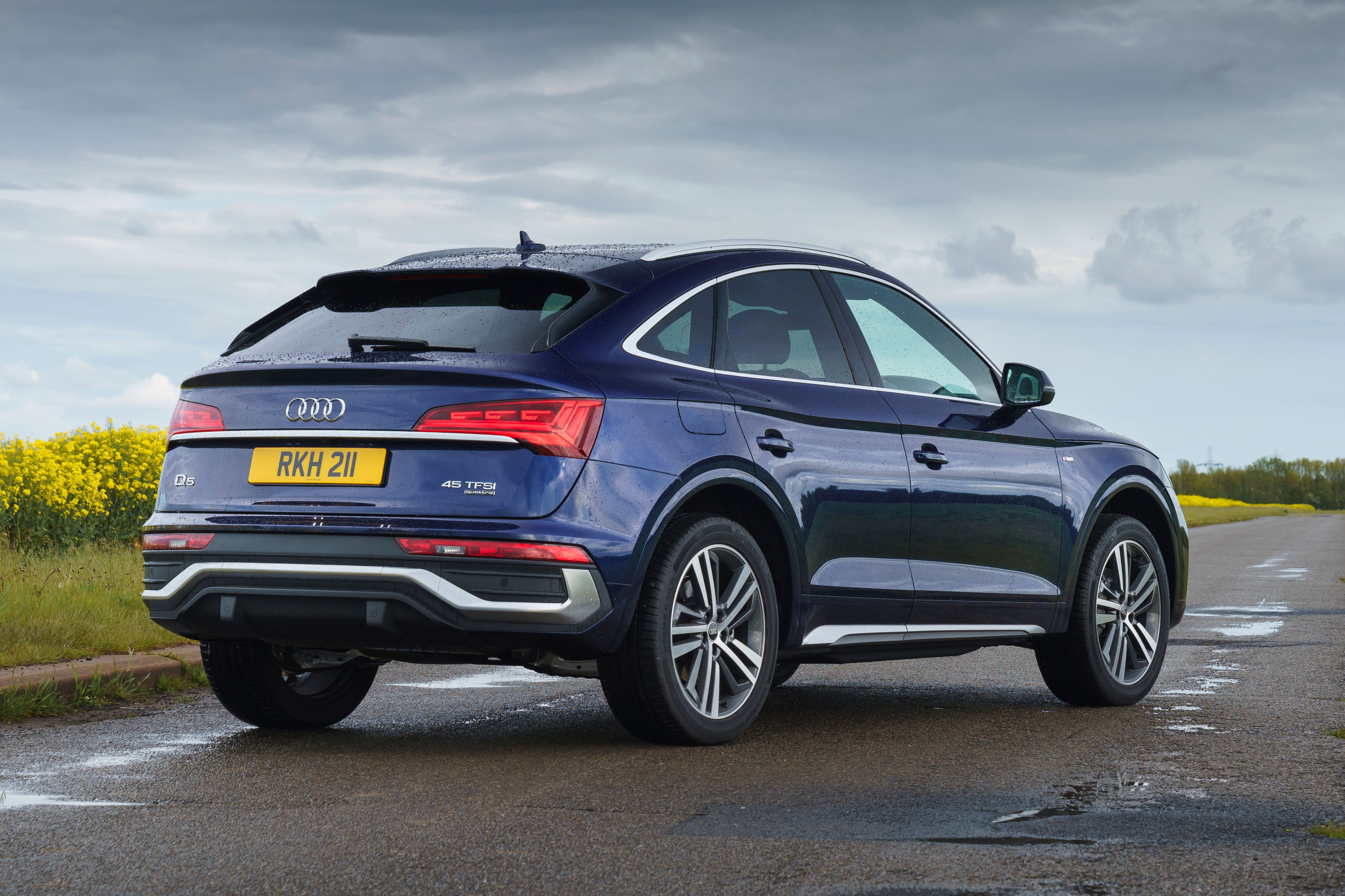 A rakish roofline eats into boot space –but it's still a surprisingly practical SUV