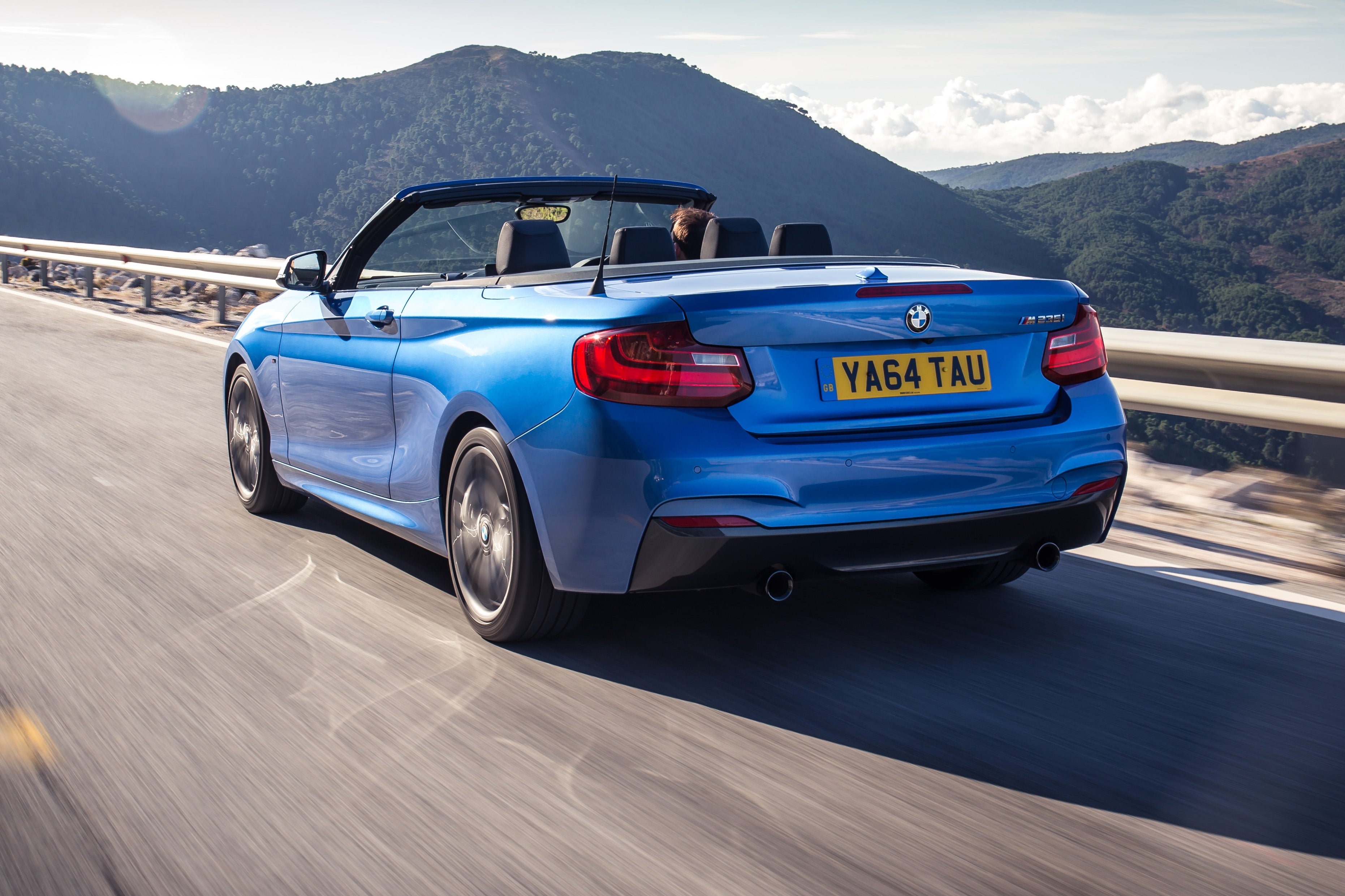 BMW 2 Series Convertible Driving Back