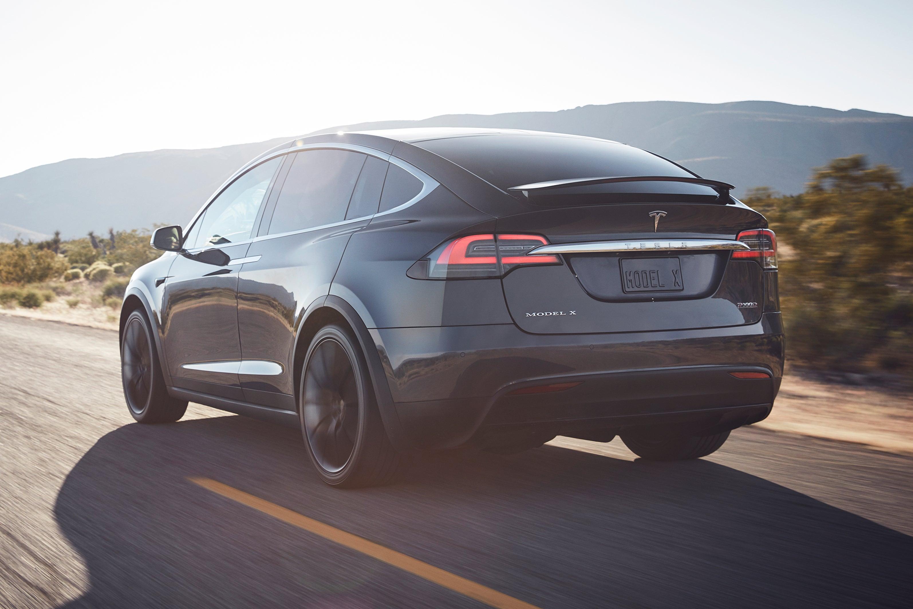 Tesla Model X Rear View