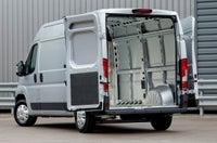 Peugeot Boxer Inside Van