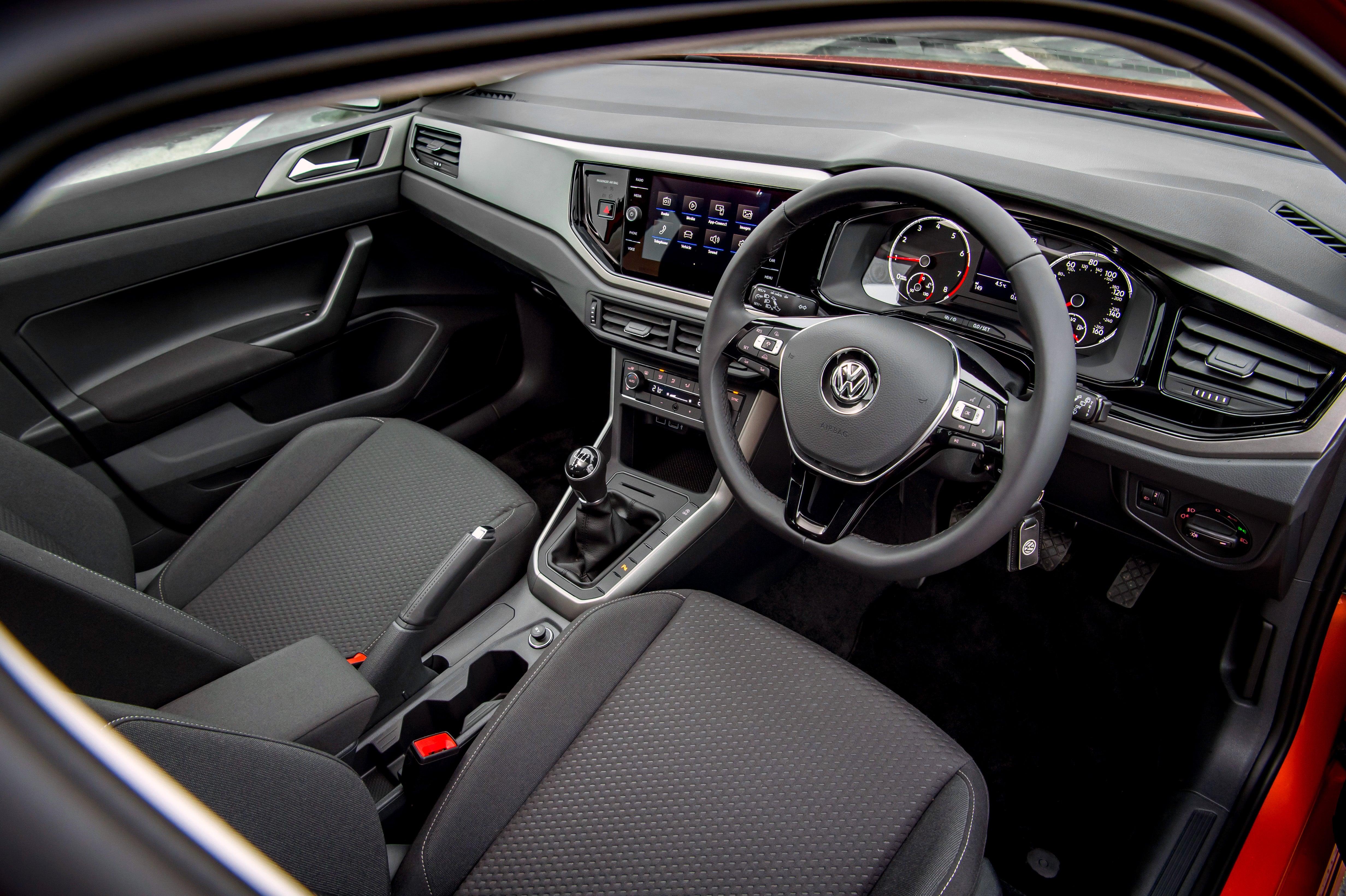 Volkswagen Polo Front Interior