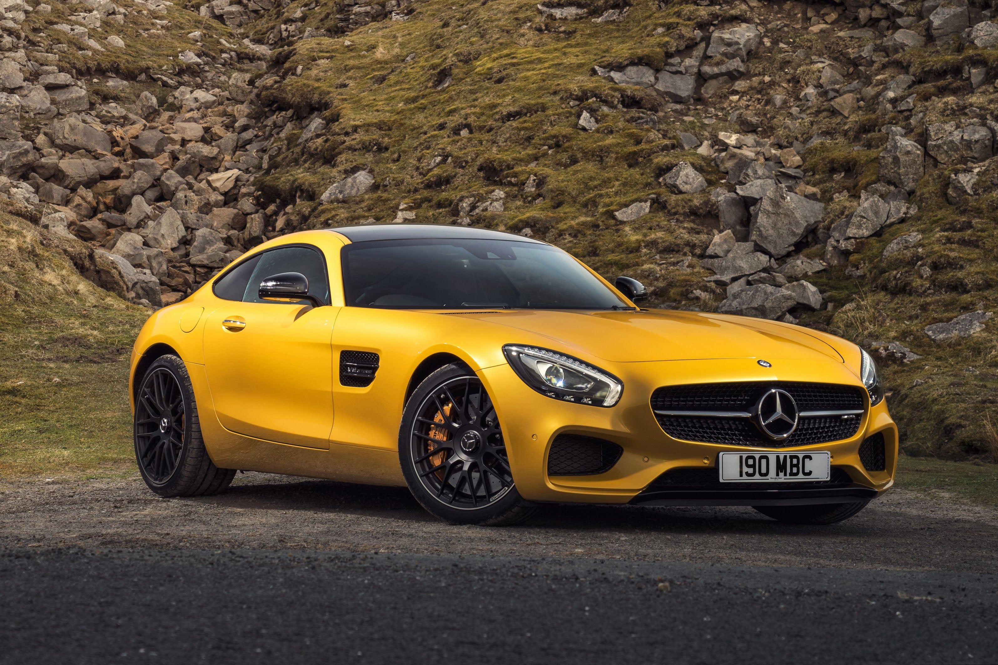 Mercedes AMG GT frontright exterior