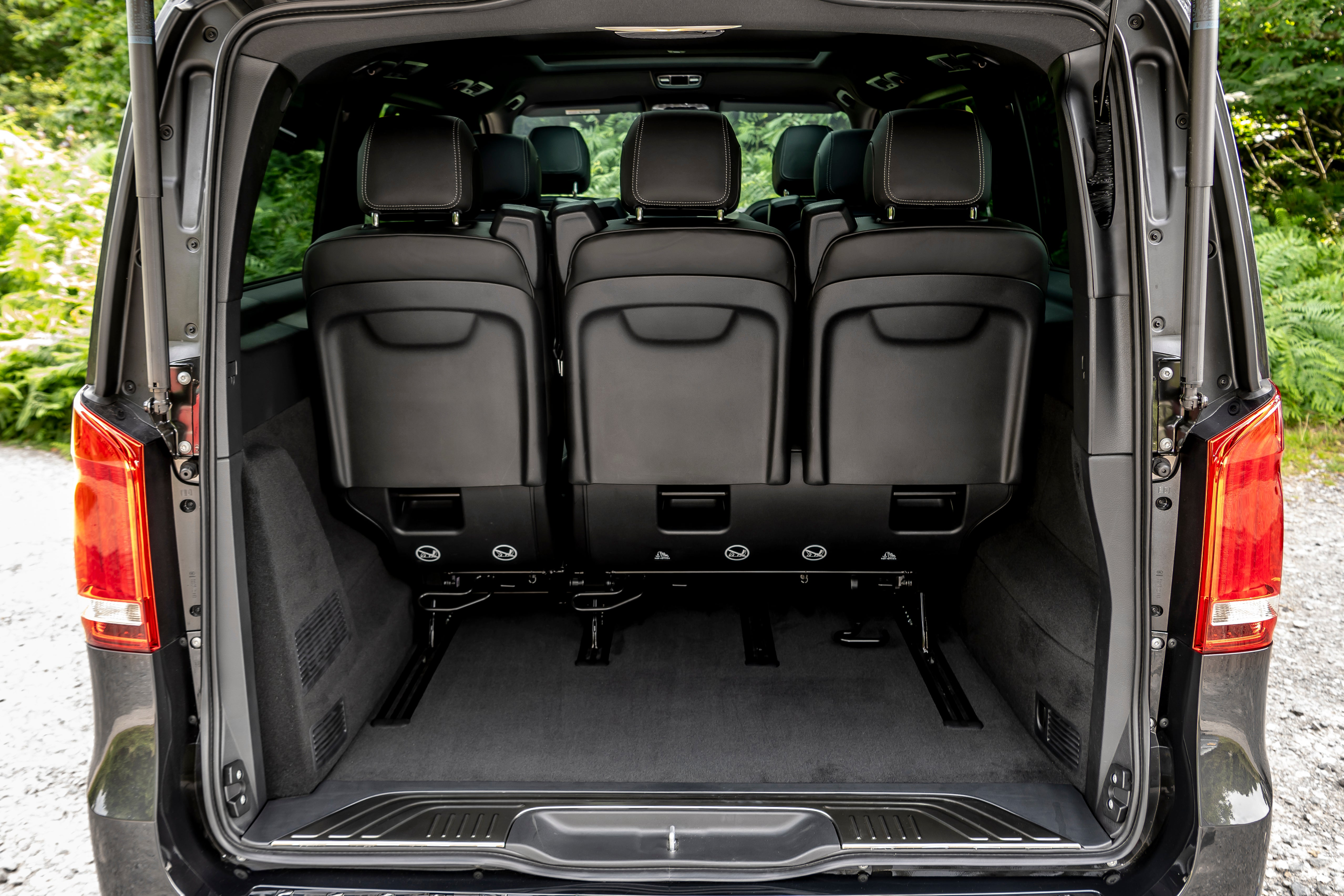 Mercedes V-Class seating