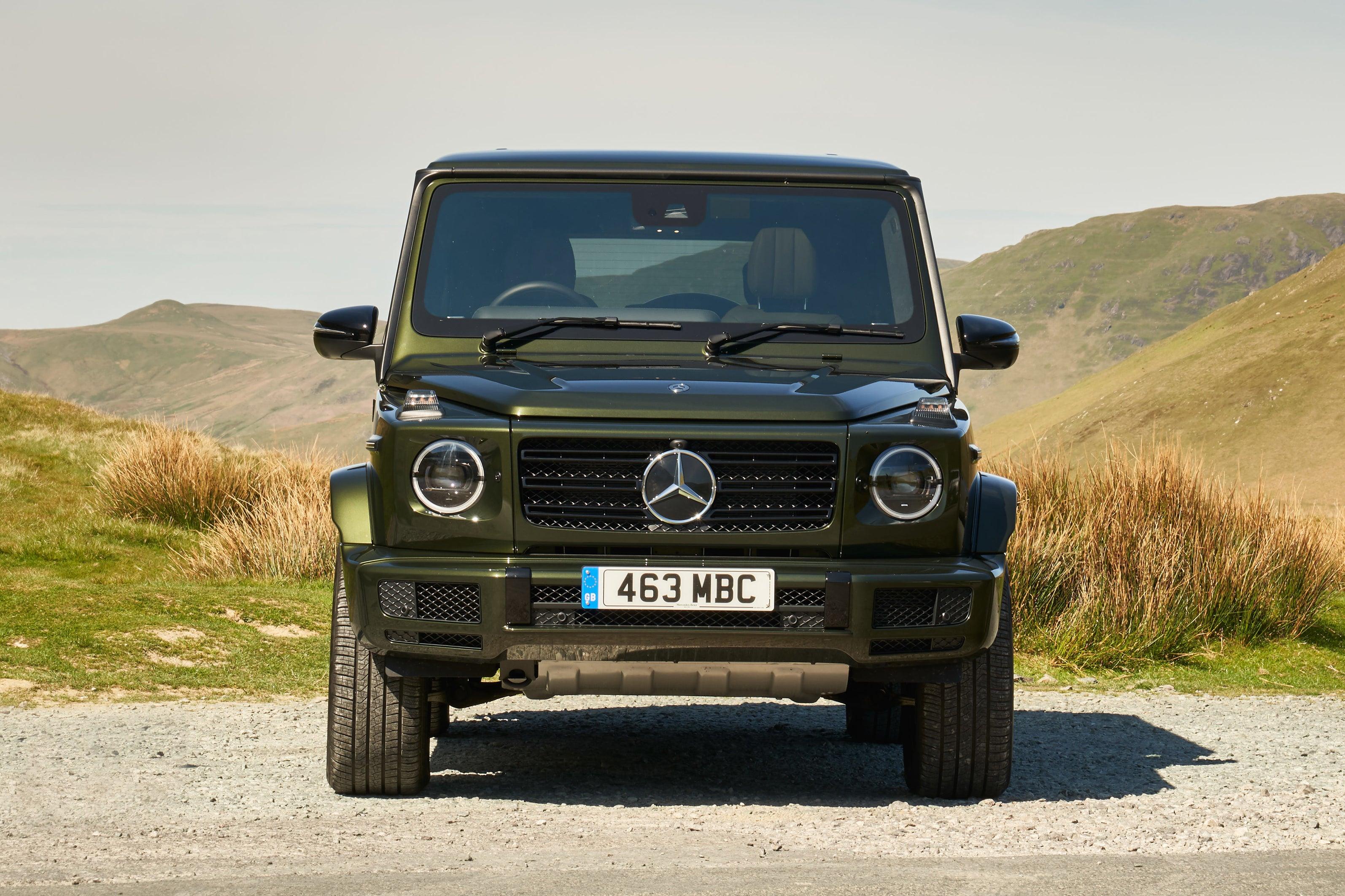 Mercedes G-Class front exterior