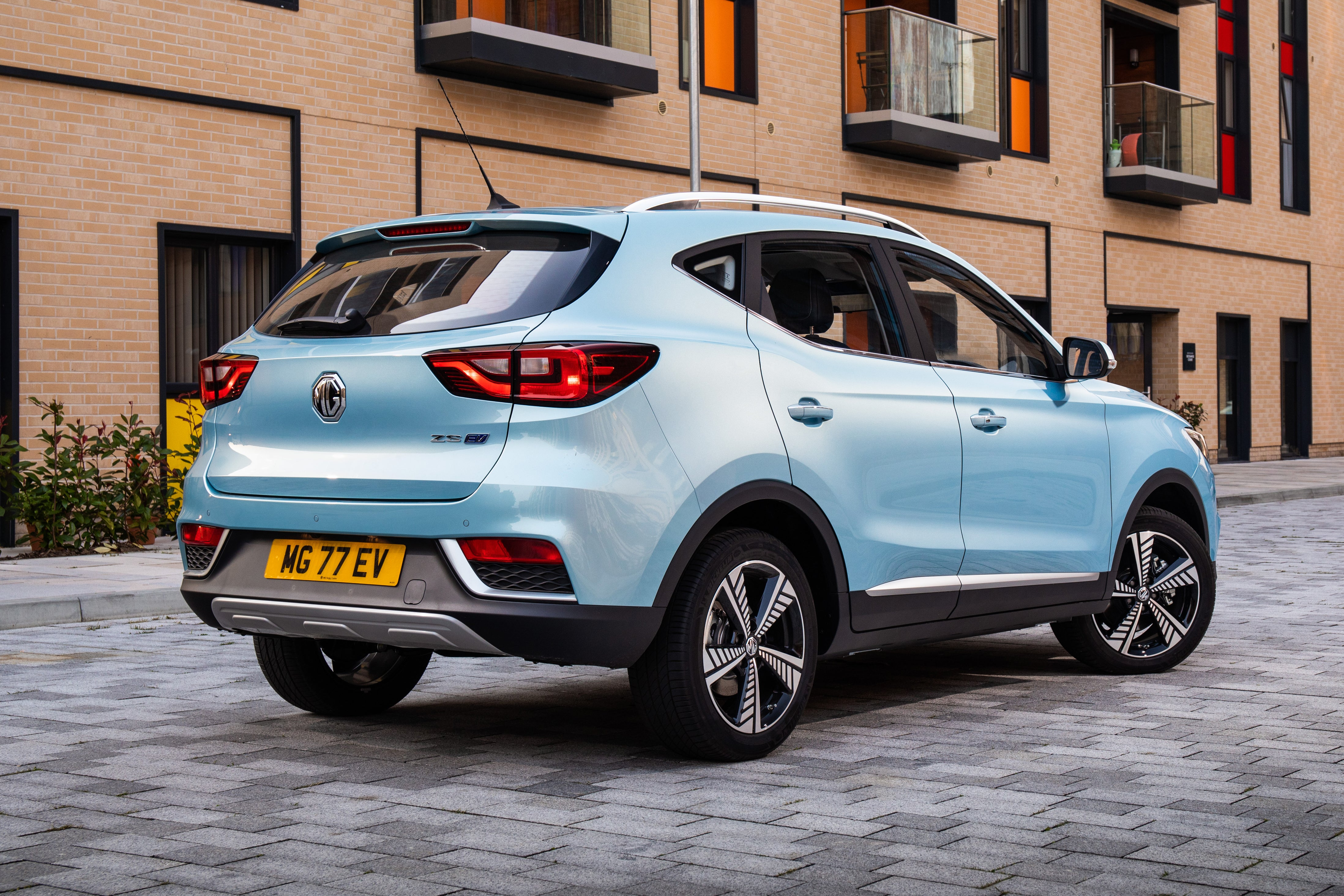 MG ZS EV Review 2021 back right exterior