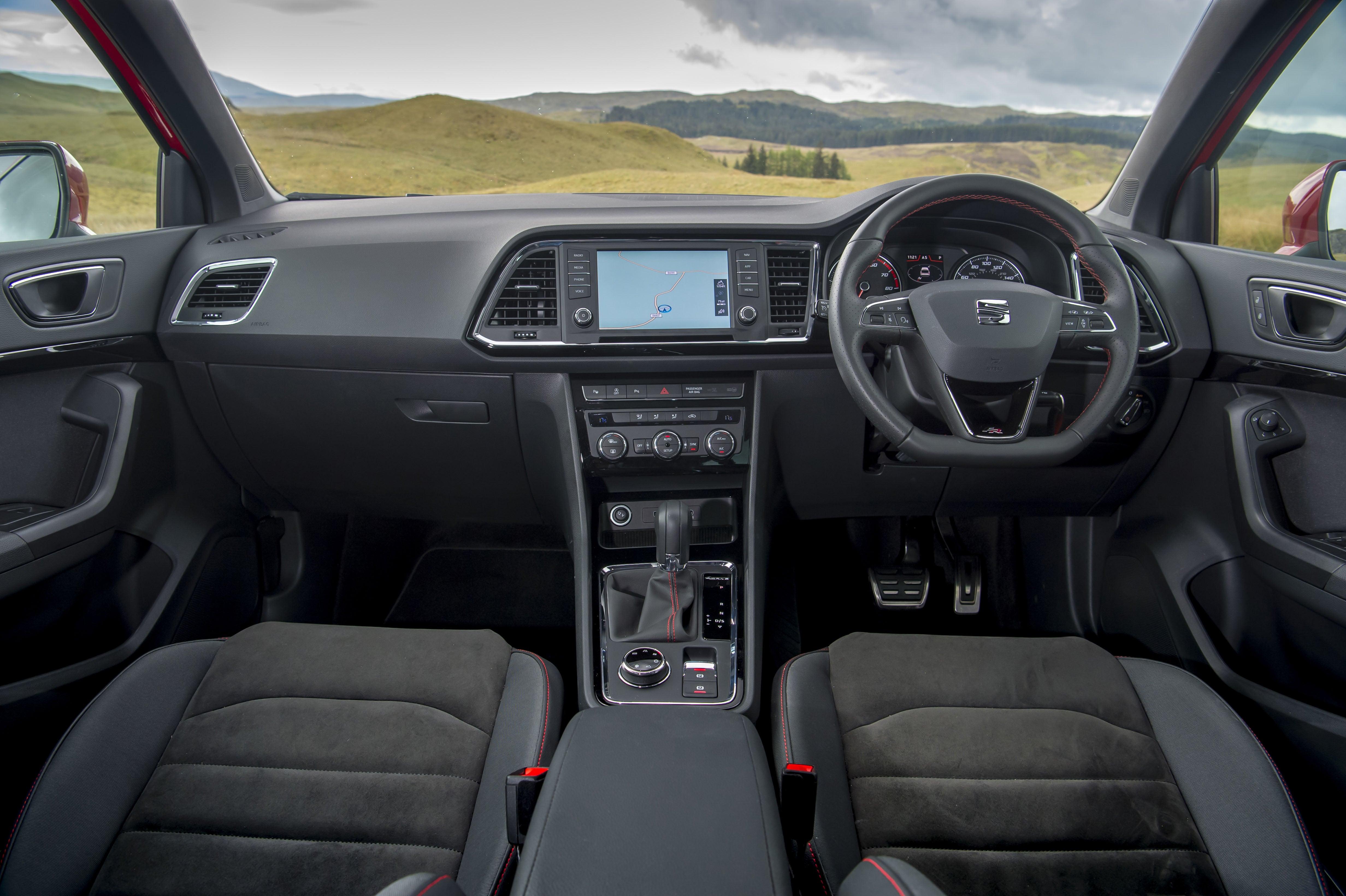 SEAT Ateca Front Interior