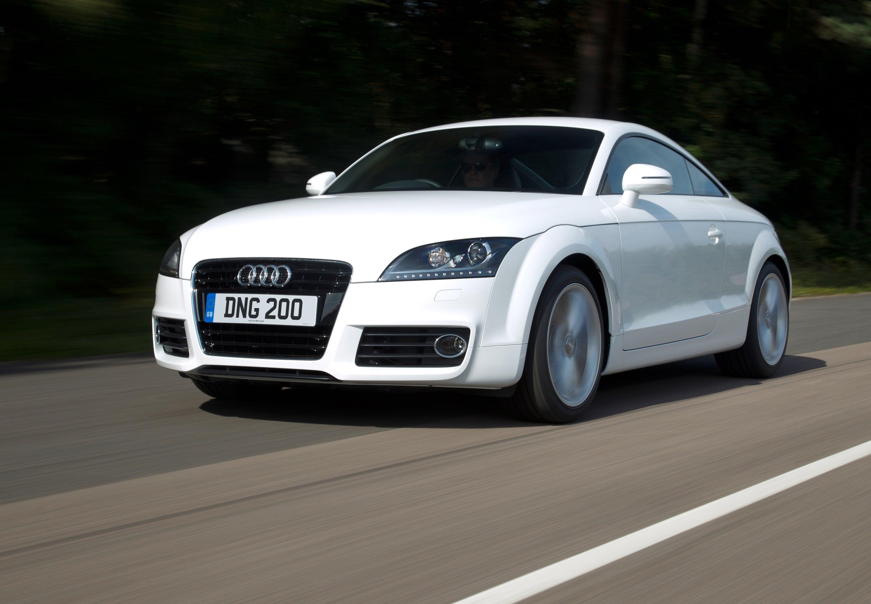 Audi TT white