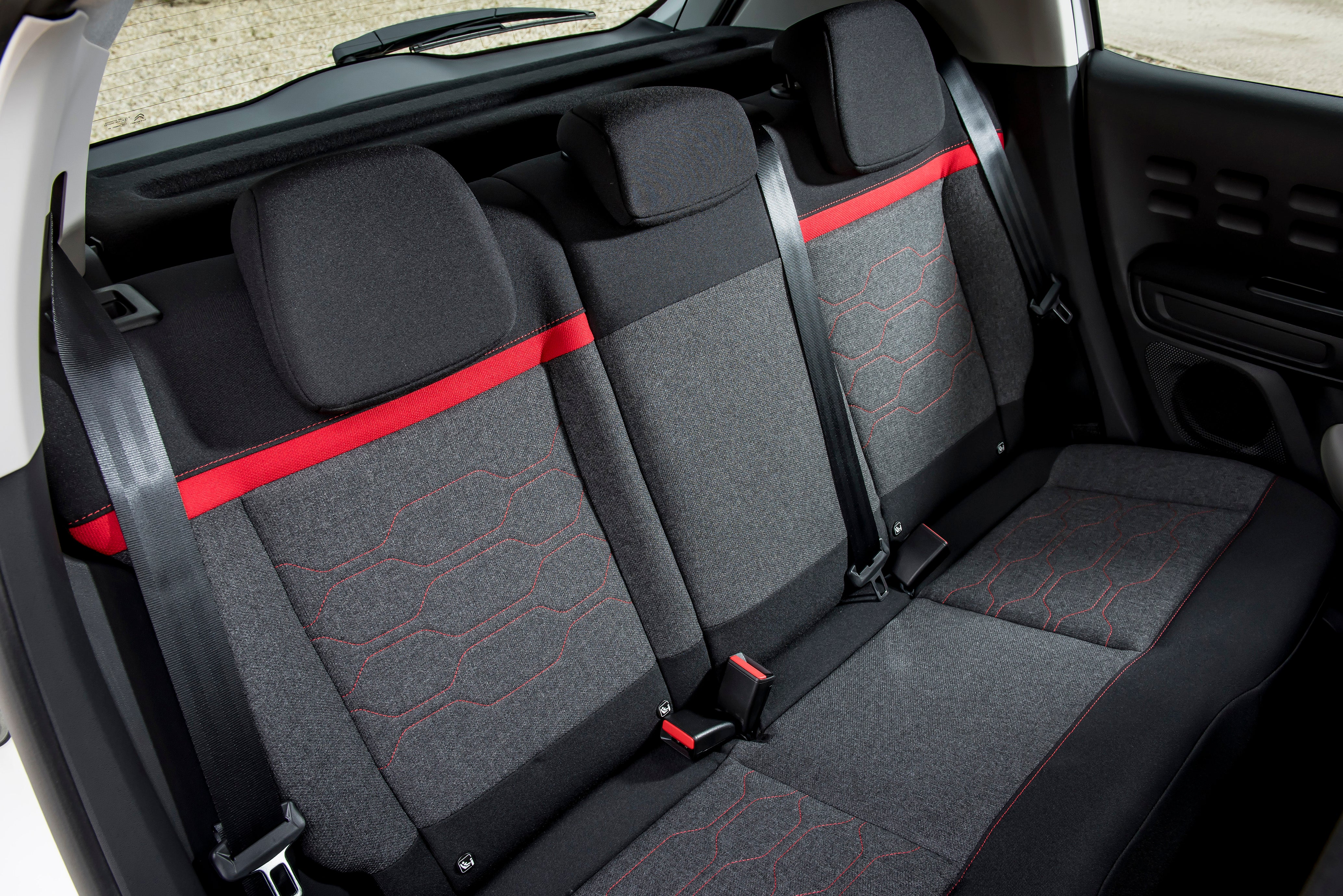 Citroen C3 Review 2021: Back seats and passenger space