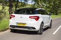 DS5 driving rear three quarter