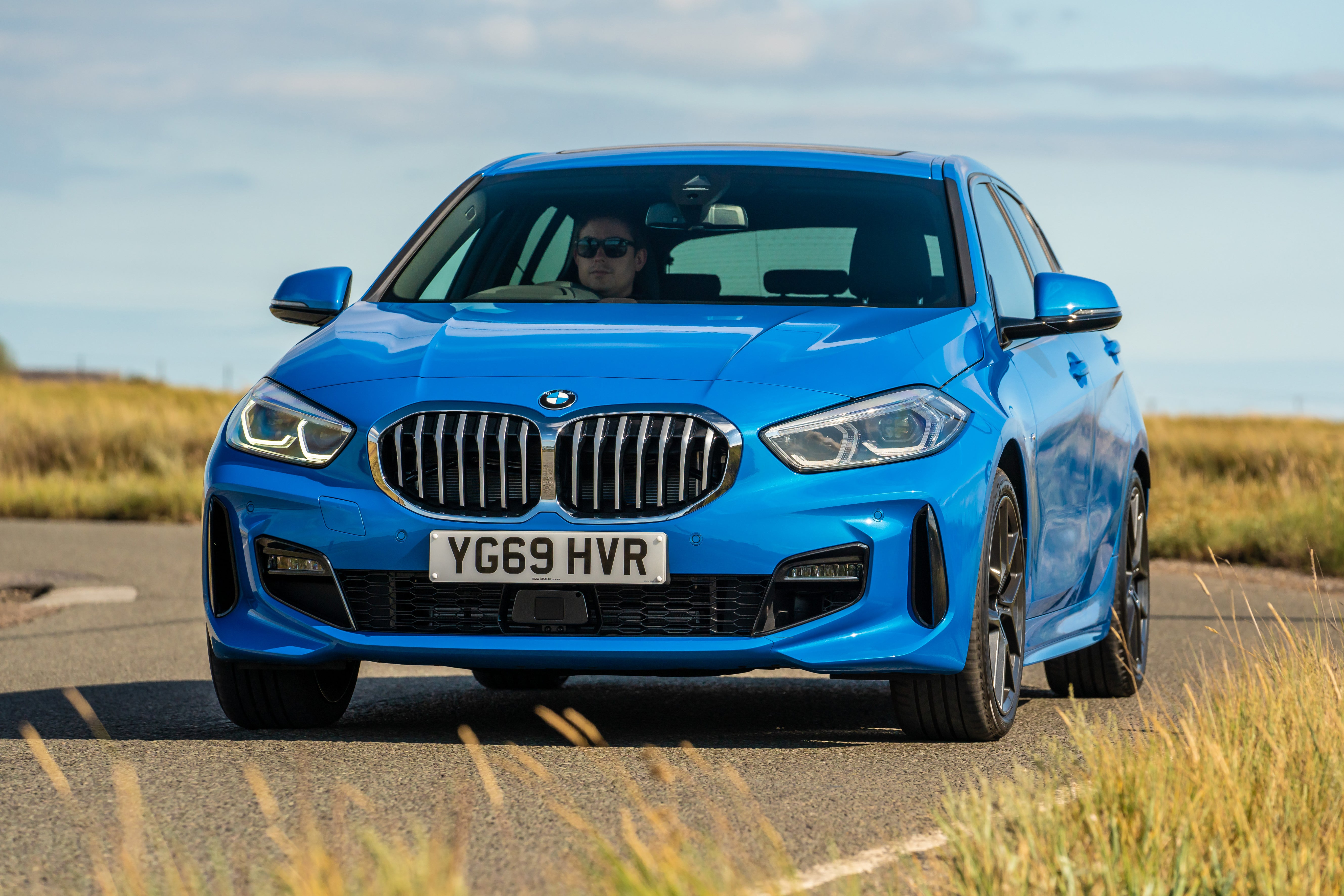 BMW 1 Series Driving Front