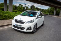 Peugeot 108 frontleft exterior moving