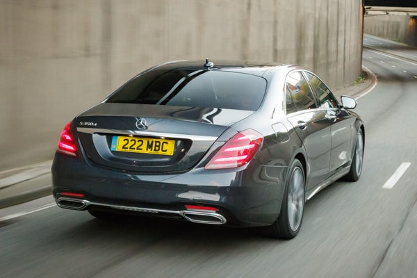 Mercedes S-Class Coupe backright exterior