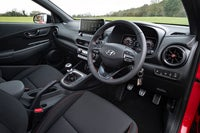 Hyundai Kona Review 2021 interior dashboard