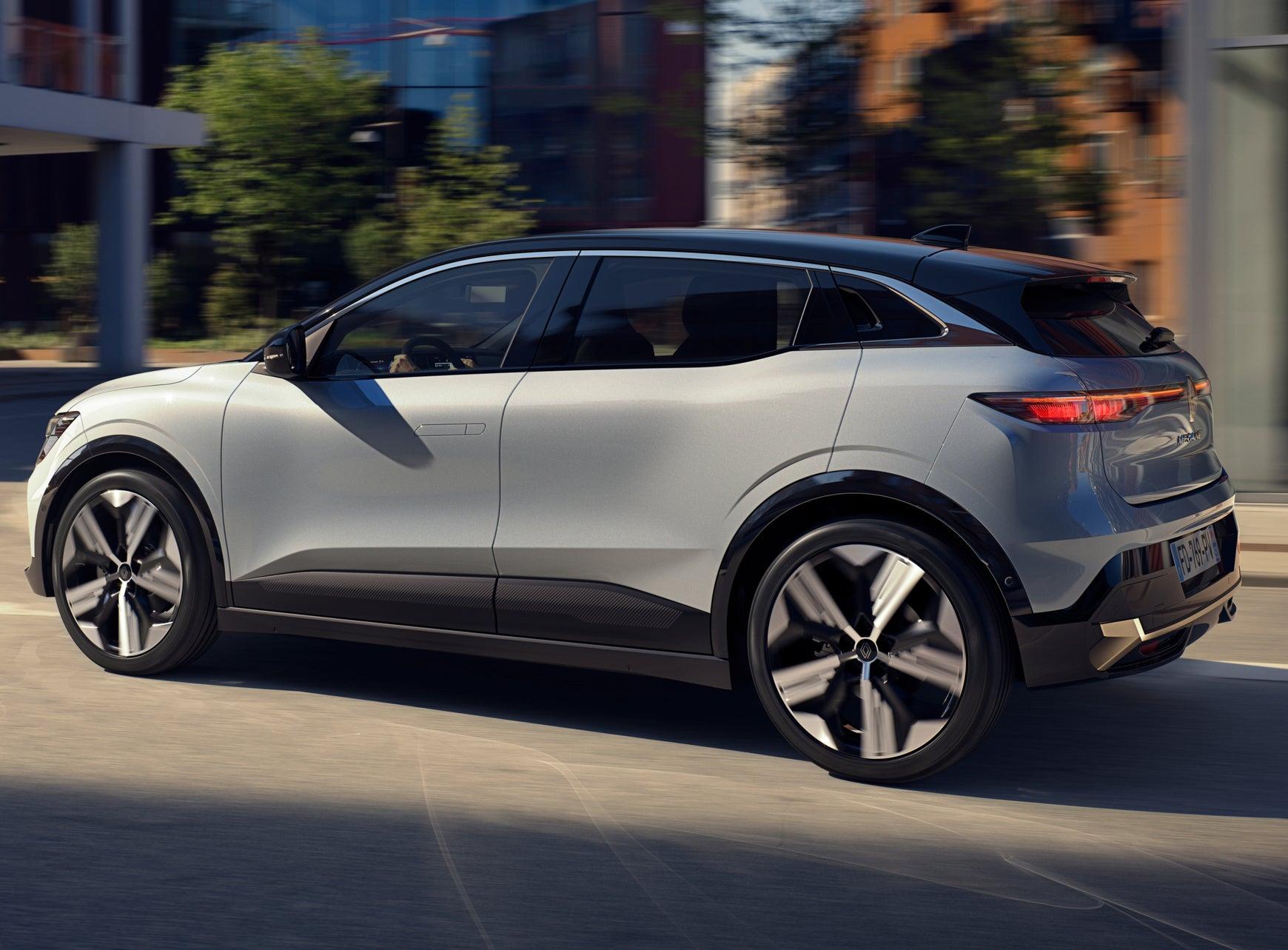 Renault Megane E-Tech Electric profile