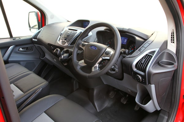 Ford Transit Custom front interior