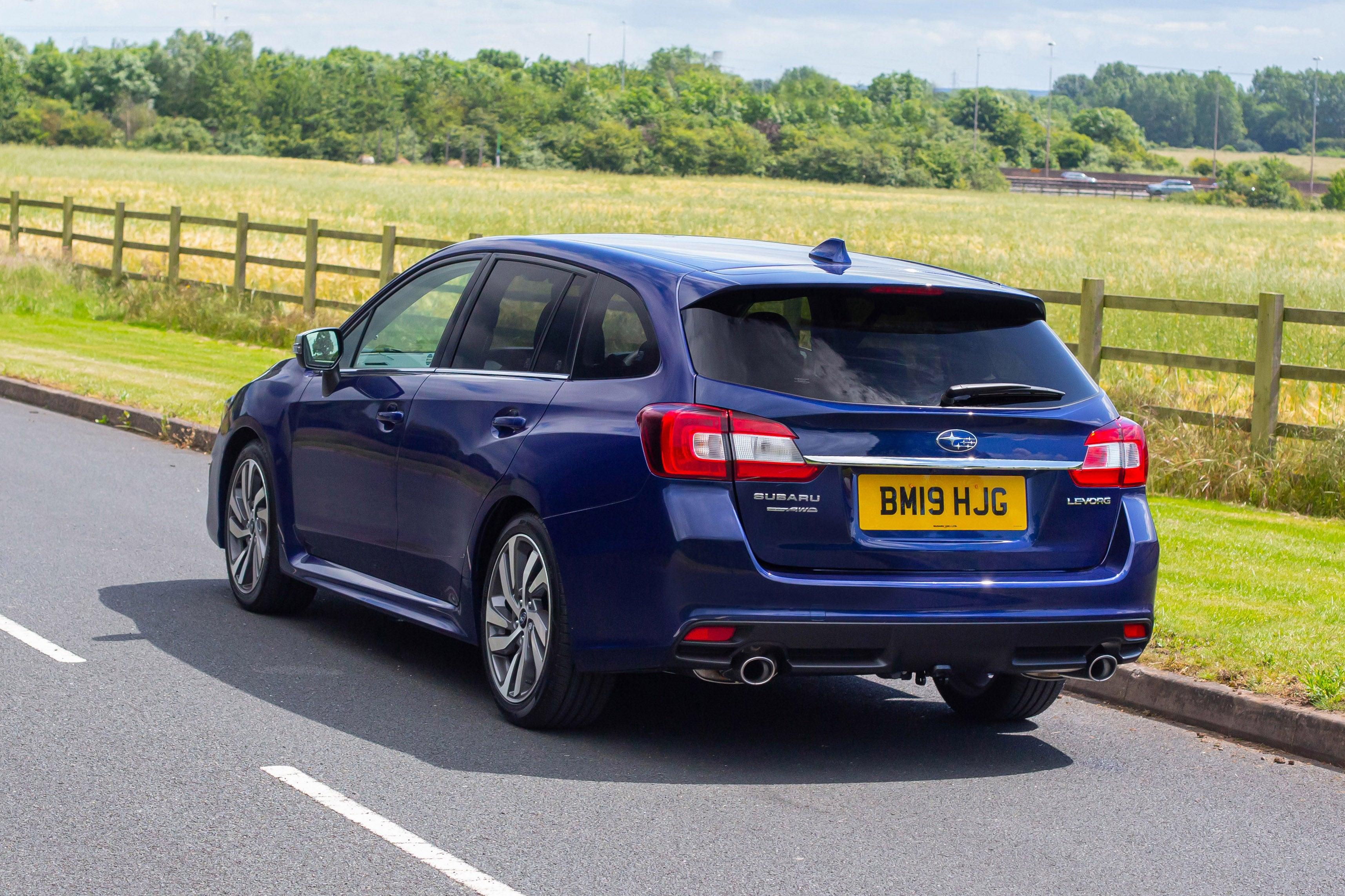 Subaru Levorg Side Rear View