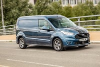 Ford Transit Connect driving