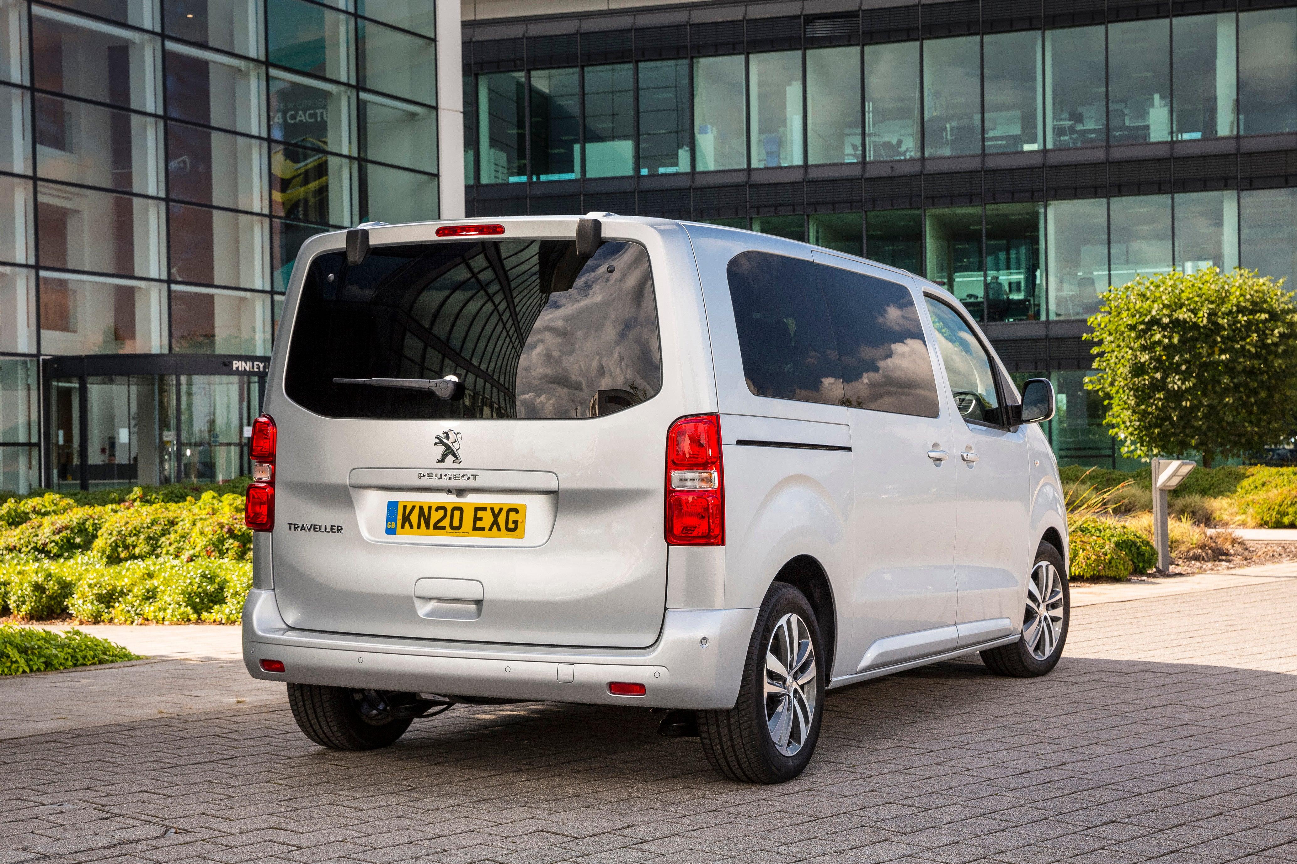 Peugeot Traveller Rear View