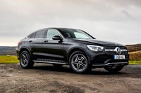 Mercedes GLC Coupe frontright exterior