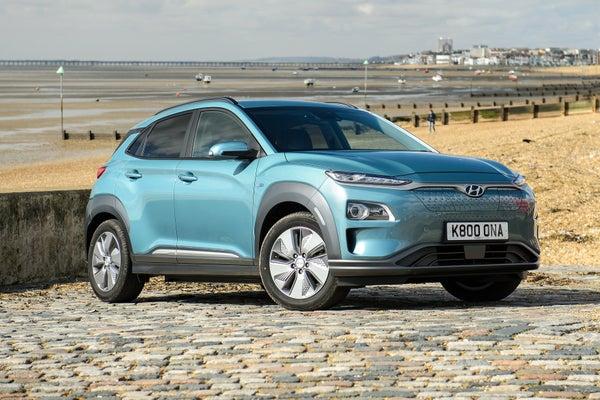 Hyundai Kona Electric frontright exterior