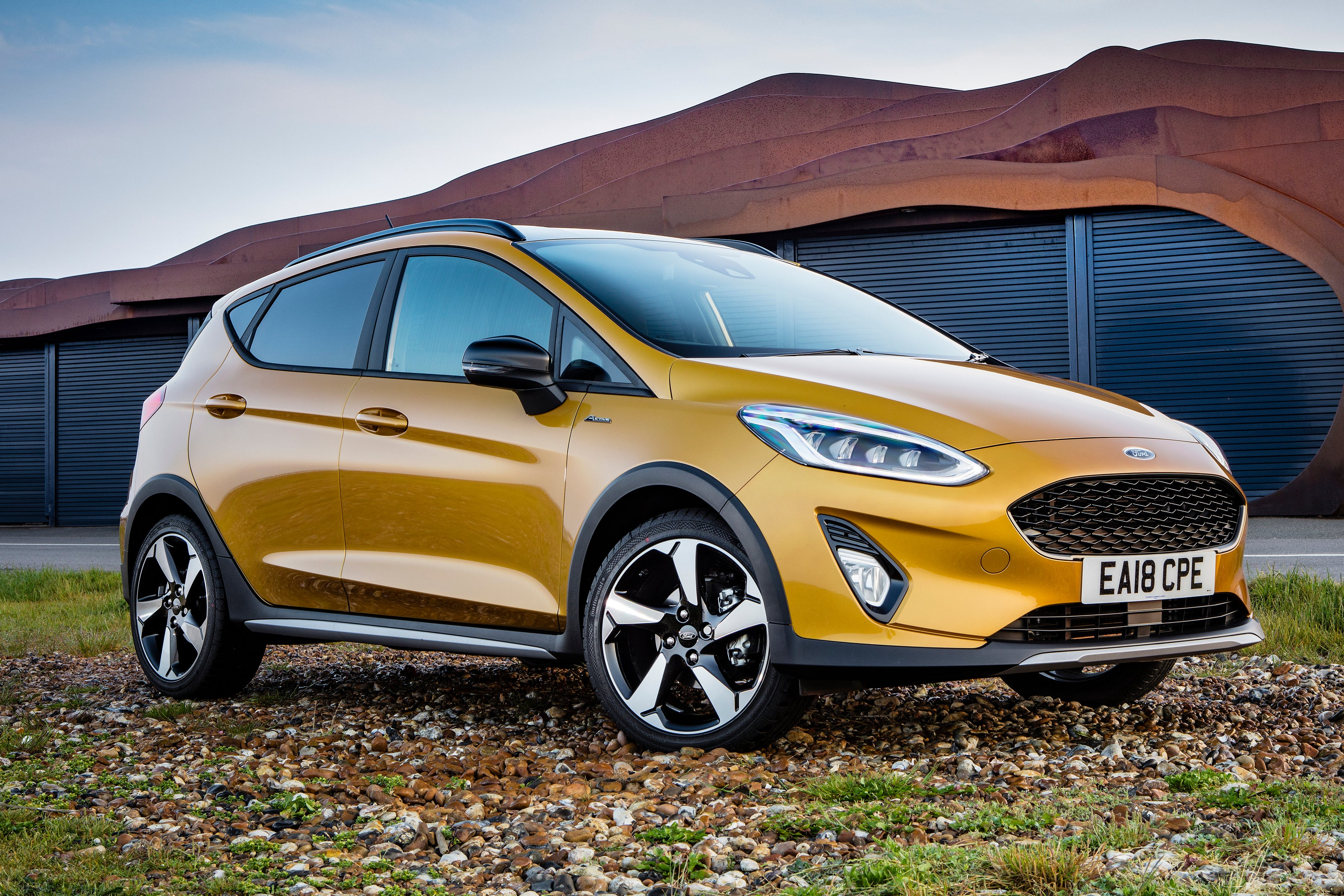 Ford Fiesta Active front