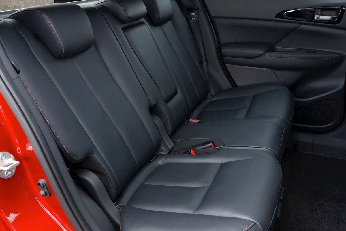 Mitsubishi Eclipse Cross rear interior