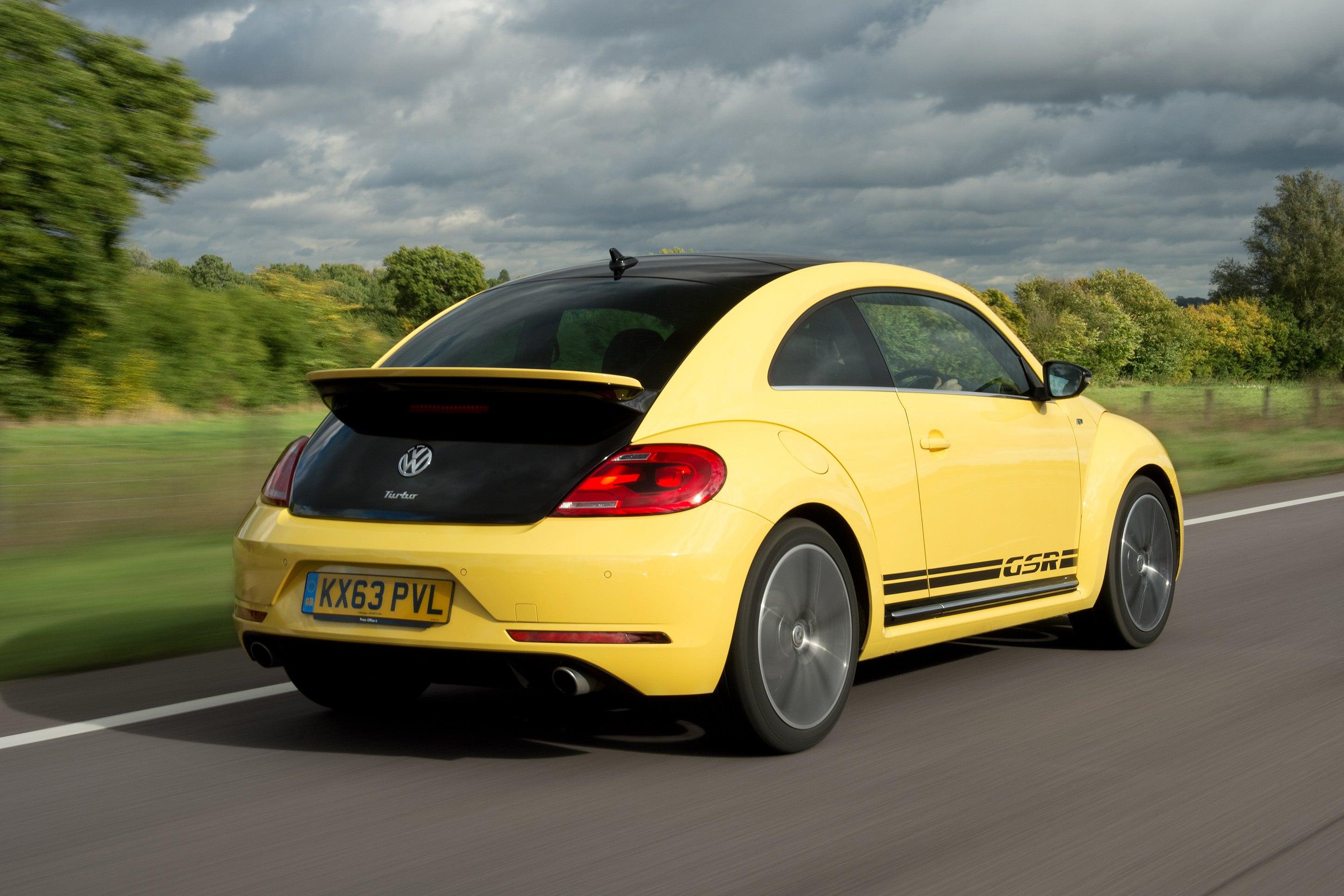 Volkswagen Beetle Rear Side View