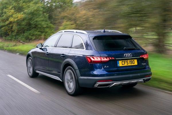 Audi A4 Allroad Driving Back
