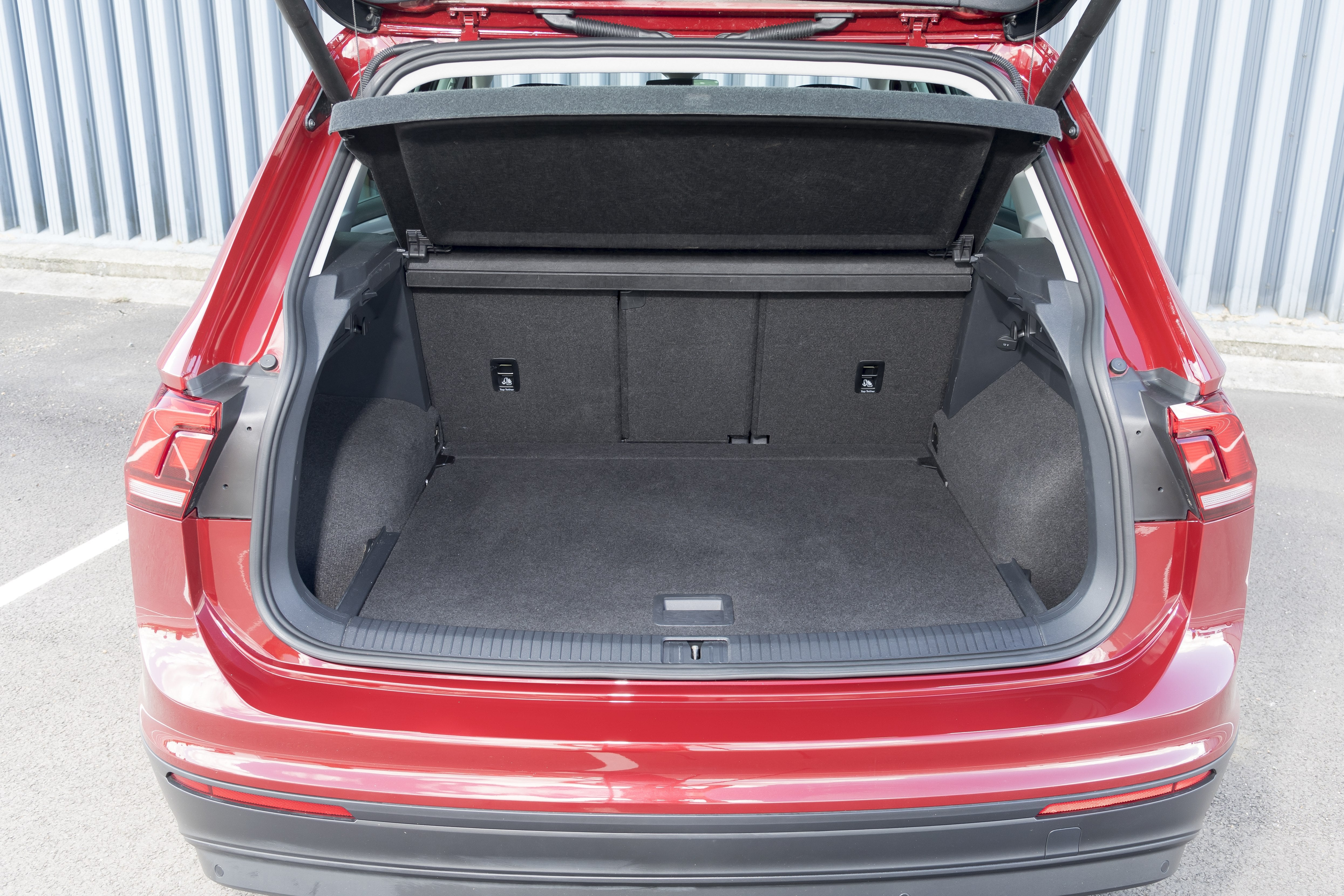 Volkswagen Tiguan Bootspace