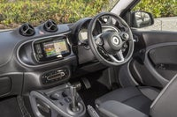 Smart Forfour Front Interior