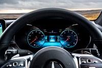 Mercedes GLC Coupe dashboard