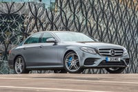 Mercedes E-Class frontright exterior