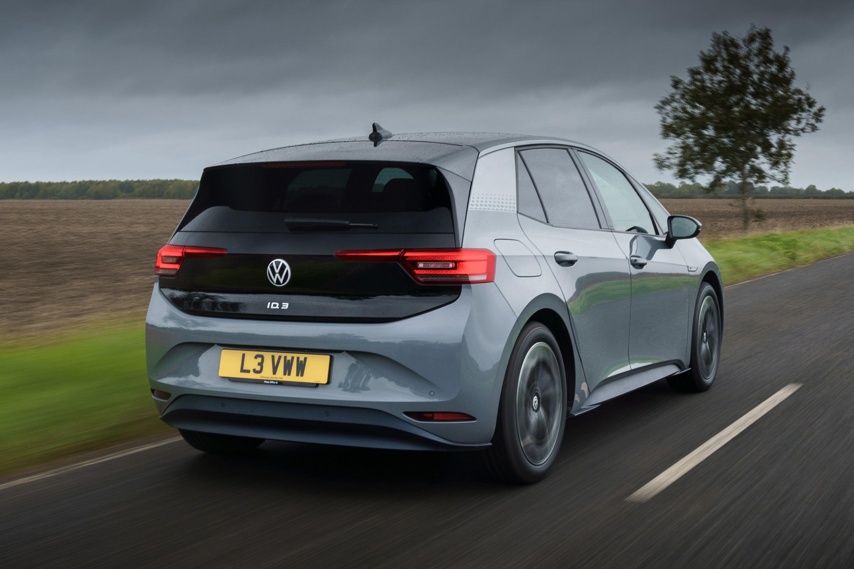 Volkswagen ID.3 UK driving