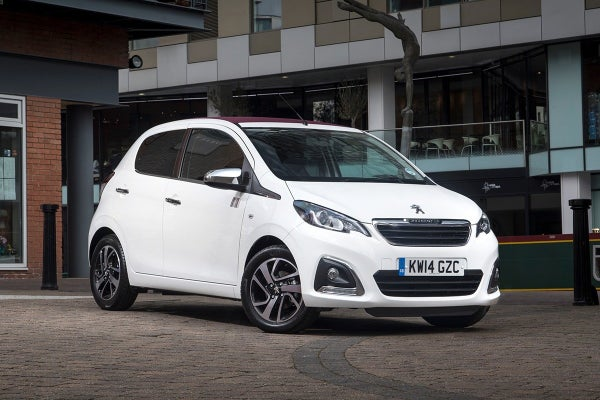 Peugeot 108 frontright exterior static