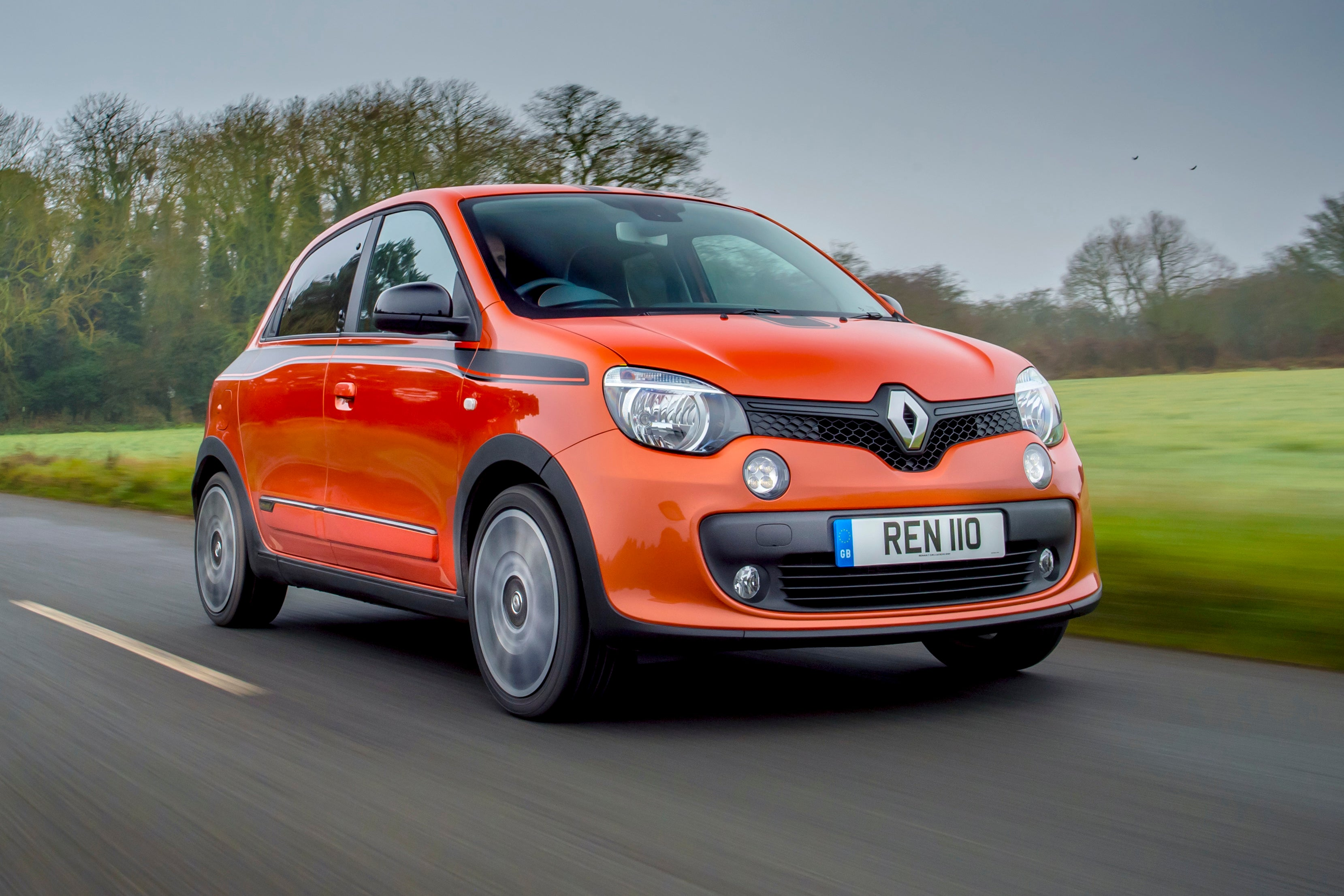 Renault Twingo Front View