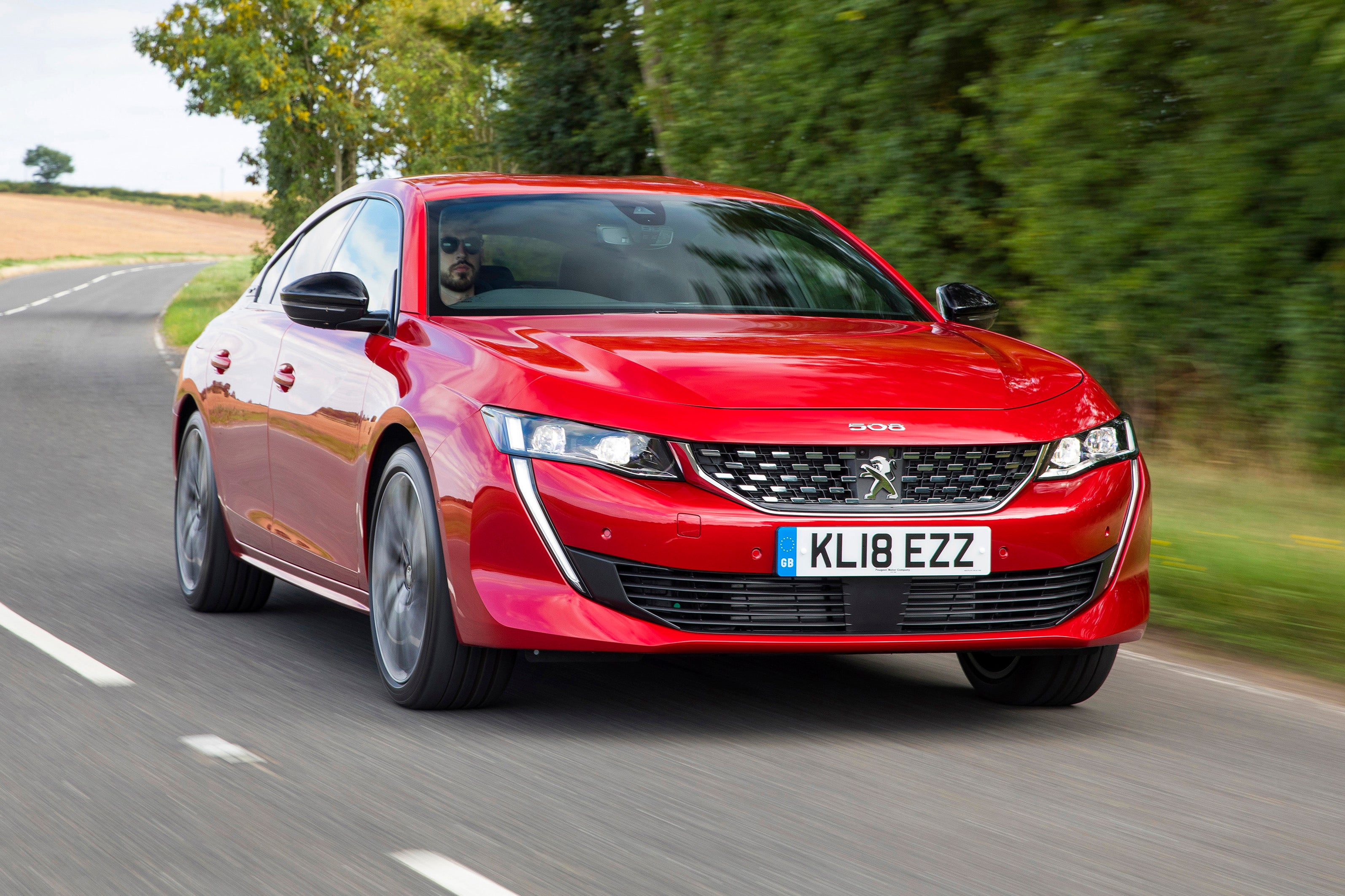 Peugeot 508 Front View