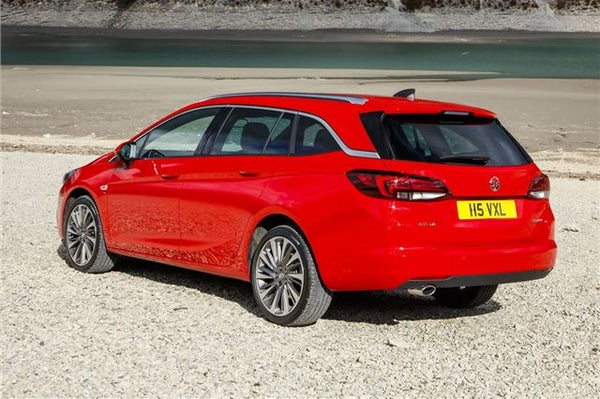 Vauxhall Astra Sports Tourer Rear Side View