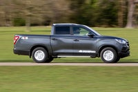 SsangYong Musso Right Side View