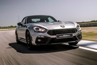 Abarth 124 Spider driving