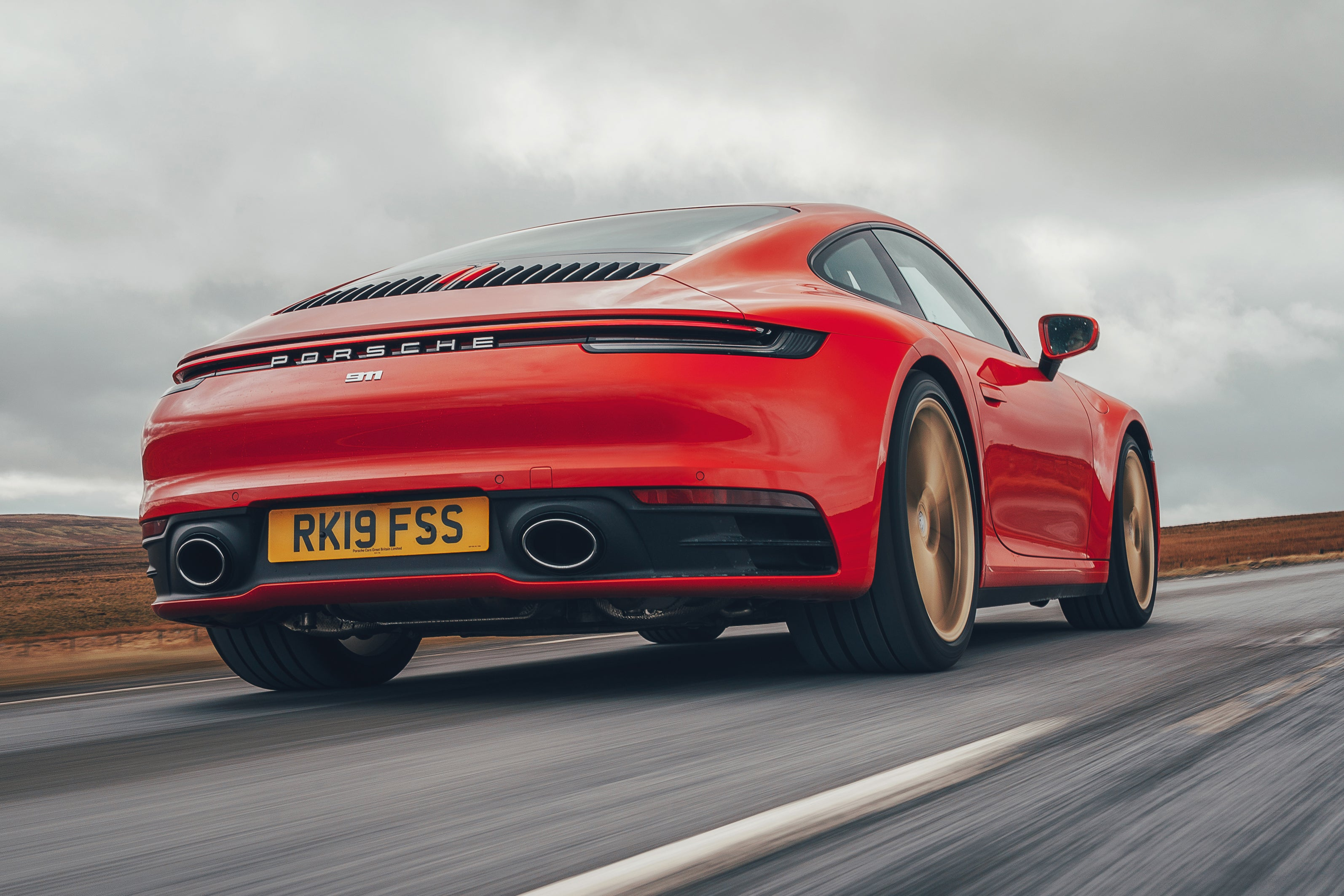 Porsche 911 Rear View