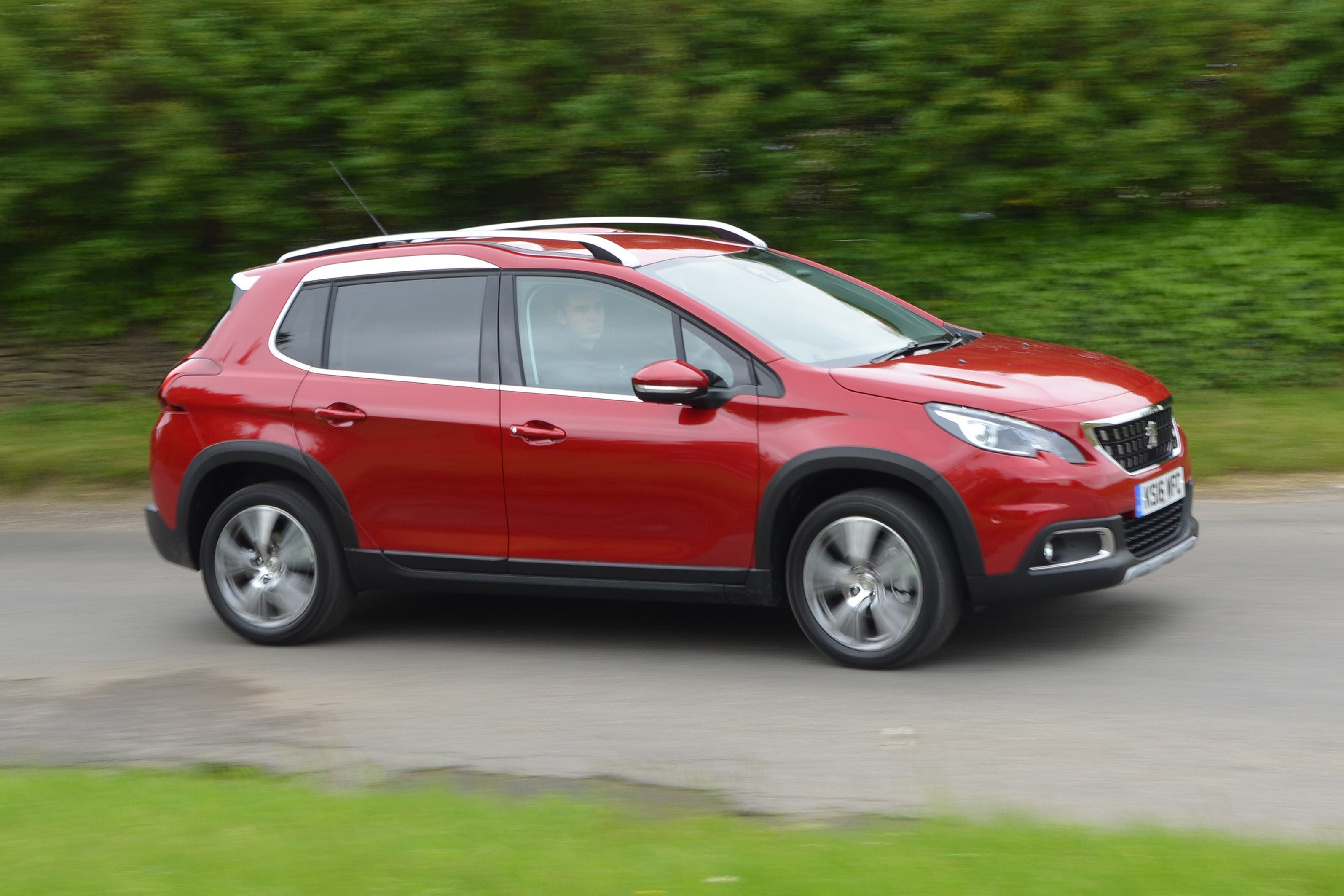 Peugeot 2008 driving
