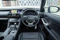 Lexus IS front interior